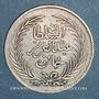 Münzen Tunisie. Abdoul Aziz avec Mohammed el-Sadok (1277-1293H = 1861-1876). 1 piastre 1293H (= 1877)