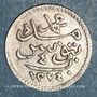 Münzen Tunisie. Abdoul Mejid, sultan avec Muhammad, bey (1272-1276H). 4 kharoubs 1274H