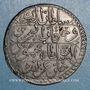 Münzen Tunisie. Mahmoud II (1223-1255H = 1808-1839). 8 kharoubs 1245H