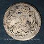 Münzen Tunisie. Ottomans. Abdoul Mejid (1255-1277H) avec Muhammad Bey. 2 kharub argent 1274 H. Tunis