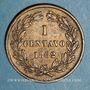 Münzen Vénézuela. République. 1 centavo 1862