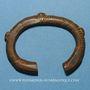 Münzen Niger. Manille ou monnaie-bracelet. Bronze.