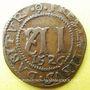 Münzen Saint-Omer (Artois). Eglise. Méreau de 12 deniers 1526
