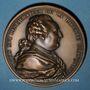 Münzen Assemblée Nationale. 4 août 1789. Abandon des privilèges. Médaille bronze. Refrappe