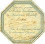Münzen Directoire Exécutif (1795-1799). Laisser-passer sur papier avec deux signatures manuscrites