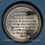 Münzen Guerre de 1870-1871. Bonvalet organise 85 brancardiers. Médaille. 48 mm