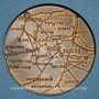Münzen Guerre de 1870-1871. Combats de Ladon. Juranville, Mézières et Beaune-la-Rolande. Médaille. 36,6 mm