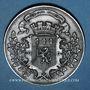 Münzen Guerre de 1870-1871. Formation de la 5e légion de marche. Médaille étain. 45,8 mm