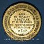 Münzen Guerre de 1870-1871. Mort de Néverlée. Médaille étain bronzé. 45,7 mm