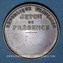 Münzen Guerre de 1870-1871. Siège de Paris. Médaille cuivre rouge. 37 mm