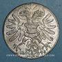 Münzen Révolution allemande. 1848. Jean, vicaire de l'empire allemand. Médaille étain coulé