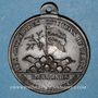 Münzen Révolution de 1830. Médaille en hommage au général Lafayette. Bronze. 28,4 mm. Avec bélière