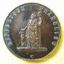 Münzen Révolution de 1848. Club de la Montagne de Montmartre. Médaille cuivre. 33,9 mm