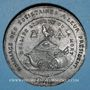 Münzen Révolution de 1848. Clubs du Nord et du Pas de Calais. Médaille étain. 45 mm