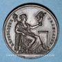 Münzen Révolution de 1848. Comité provisoire de Lyon. Médaille cuivre. 29 mm