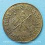 Münzen Révolution de 1848. Commémoration des journées de février. Médaille cuivre argenté. 24,5 mm