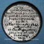 Münzen Révolution de 1848. Commémoration des journées de février. Médaille étain. 22 mm