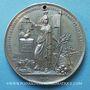 Münzen Révolution de 1848. Commémoration des journées de février. Médaille étain. 45 mm