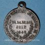 Münzen Révolution de 1848. Concours armé des départements. Médaille cuivre. 26 mm