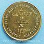 Münzen Révolution de 1848. Fraternisation des gardes nationales. Médaille cuivre jaune. 24 mm