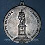 Münzen Révolution de 1848. Lille. Statue du général Négrier. Médaille étain. 48 mm