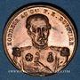 Münzen Révolution de 1848. Mort du général Duvivier. Médaille cuivre. 23,8