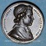 Münzen Révolution de 1848. Mort Mgr Affre, archevêque. Médaille cuivre rouge. 32 mm