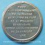 Münzen Révolution de 1848. Proclamation de la République. Médaille étain. 40 mm