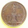 Münzen Révolution de 1848. Représentants et Généraux tués et blessés. Général Bréa. Médaille cuivre 23,7 mm