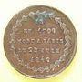 Münzen Révolution de 1848. Représentants et Généraux tués ou blessés. Général Bréa. Médaille cuivre 23,9 mm