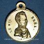 Münzen Révolution de 1848. Représentants et Généraux tués ou blessés. Général Bréa. Médaille cuivre. 24 mm