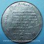 Münzen Révolution de 1848. Vote de la Constitution. Médaille étain. 46 mm