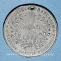 Münzen Révolution de 1848. Vote de la Constitution. Médaille plomb. 35 mm