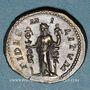 Münzen Alexandre Sévère (222-235). Denier. Rome, 225. R/: la Fidélité militaire