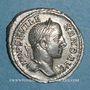 Münzen Alexandre Sévère (222-235). Denier. Rome, 228-231. R/: Jupiter