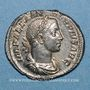 Münzen Alexandre Sévère (222-235). Denier. Rome, 231-235. R/: Jupiter