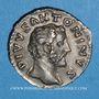 Münzen Antonin le Pieux (138-161). Denier. Rome, 161. Frappé sous Marc Aurèle. R/: bûcher funéraire