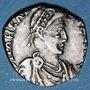 Münzen Arcadius (383-408). Silique. Trèves, 392-395. R/: Rome