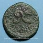 Münzen Auguste (27 av. - 14 ap. J-C). As émis par M. Salvinus Otho. Rome, 7 av. J-C, contremarqué TIB