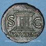 Münzen Auguste (27 av. - 14 ap. J-C). As frappé sous Tibère. Rome, 31-37. R/: autel