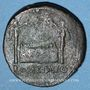 Münzen Auguste (27 av. - 14 ap. J-C). As. Lyon, 10-7(?) av. J-C. R/: autel de Lyon orné de figures