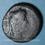 Münzen Auguste (27 av. - 14 ap. J-C). As. Lyon, vers 10-7 av. J-C ; contremarqué TIB sous Tibère