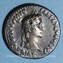 Münzen Auguste (27 av. - 14 ap. J-C). Denier fourré imitation locale vers 2 av. - 4 ap. J-C