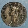 Münzen Auguste (27 av. - 14 ap. J-C). Dupondius frappé sous Caligulla. Rome, 37-41. R/: Auguste