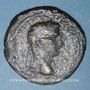 Münzen Auguste (27 av. - 14 ap. J-C). Sesterce. Lyon, 10-14 ap. J-C. Contremarque ART en monogramme