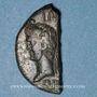 Münzen Auguste et Agrippa. As (= dupondius coupé). Nîmes, 16 - 10 avant J-C.