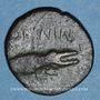 Münzen Auguste & Agrippa. Dupondius (ou as?). Emission de 16 - 10 avant J-C, imitiation gauloise locale