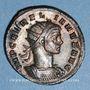 Münzen Aurélien (270-275). Antoninien. Milan, 3e officine, 274. R/: la Soleil radié à g.