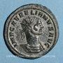 Münzen Aurélien (270-275). Antoninien. Siscia, 2e officine, 274-275. R/: l'empereur en toge