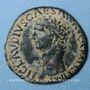Münzen Claude (41-54). As. Rome, 41-42. R/: Minerve casquée debout à droite